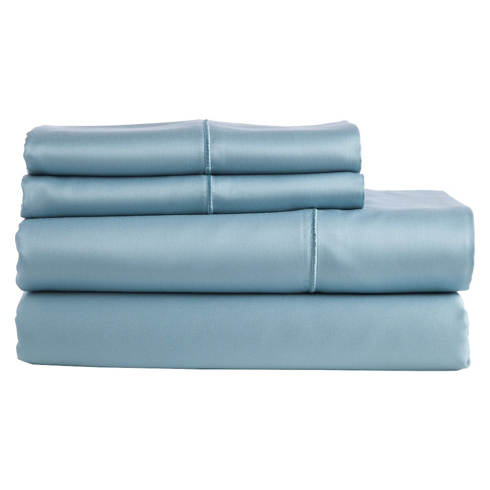 Image of The Bamboo Collection Rayon made from Bamboo Sheet Set - Teal (King), Blue