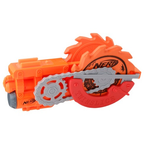 nerf zombie strike survival twinslice 2 foam stars and holder target