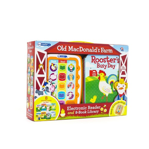 Old MacDonald's Farm Electronic Me Reader Jr Story Reader and 8-book Boxed Set - image 1 of 14