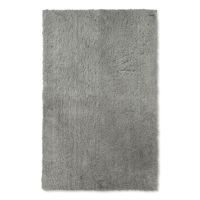 38 x24  Tufted Spa Bath Rug Gray - Fieldcrest®
