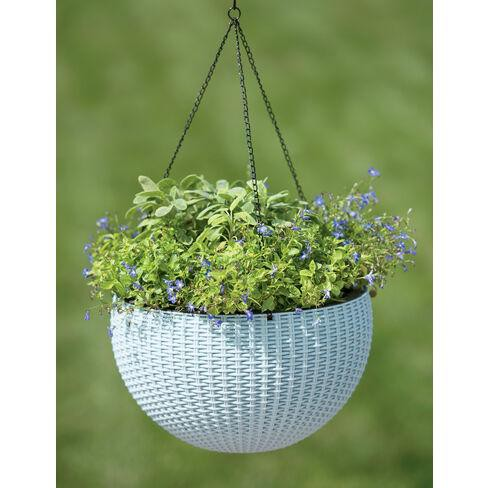 Weave Self-Watering Hanging Basket, 14 - Gardener's Supply Company - image 1 of 1