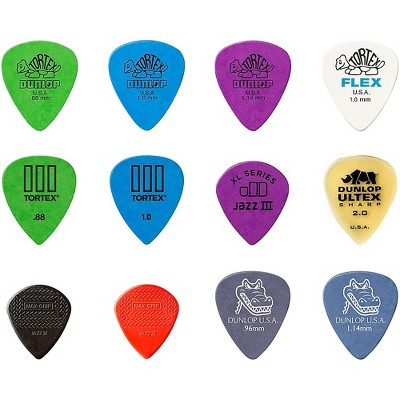 Dunlop Electric Variety 12 Pack Picks