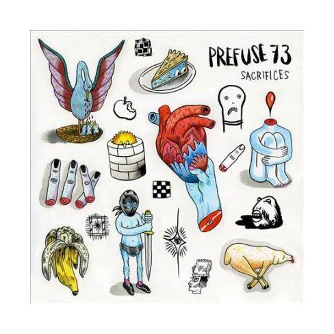 Prefuse 73 - Sacrifices (Vinyl) - image 1 of 1