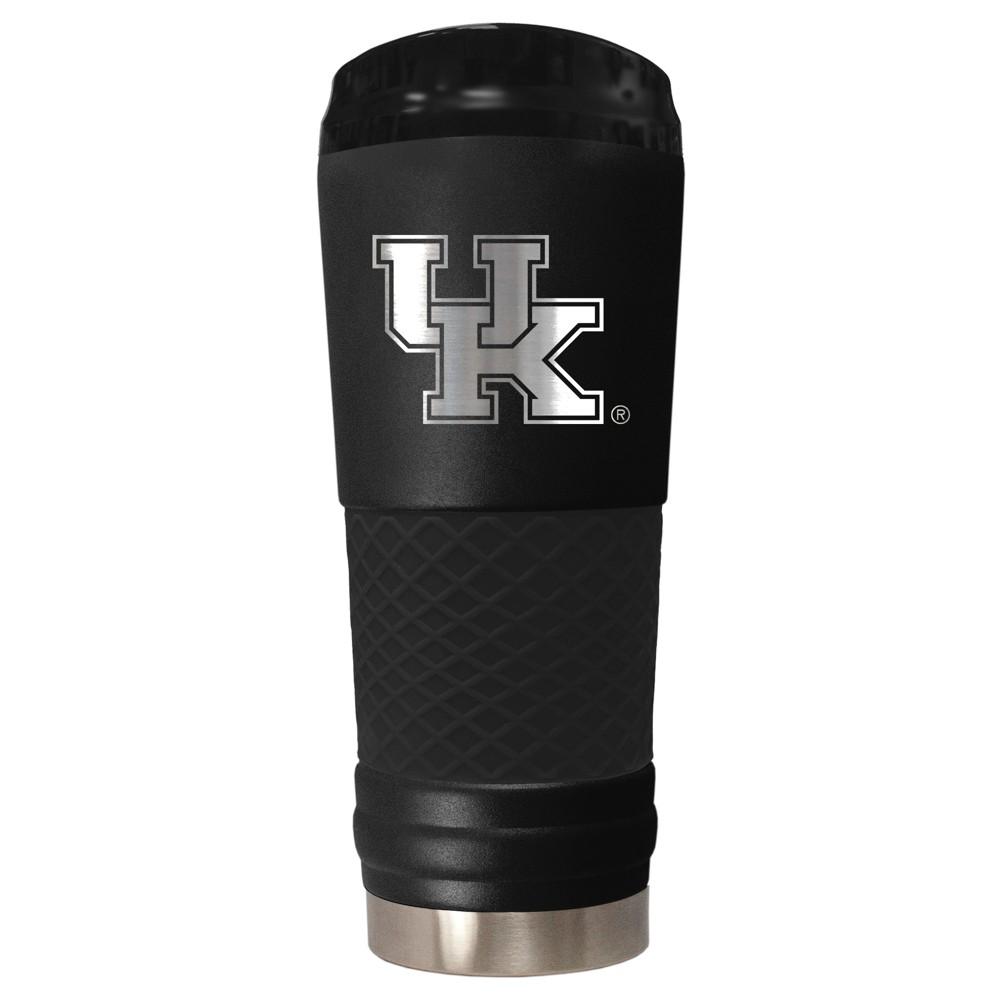 NCAA Kentucky Wildcats 18oz Matte Black Stealth Stainless Tumbler