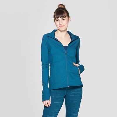 Women's Full Zip Cardio Track Jacket - C9 Champion® Dark Blue S