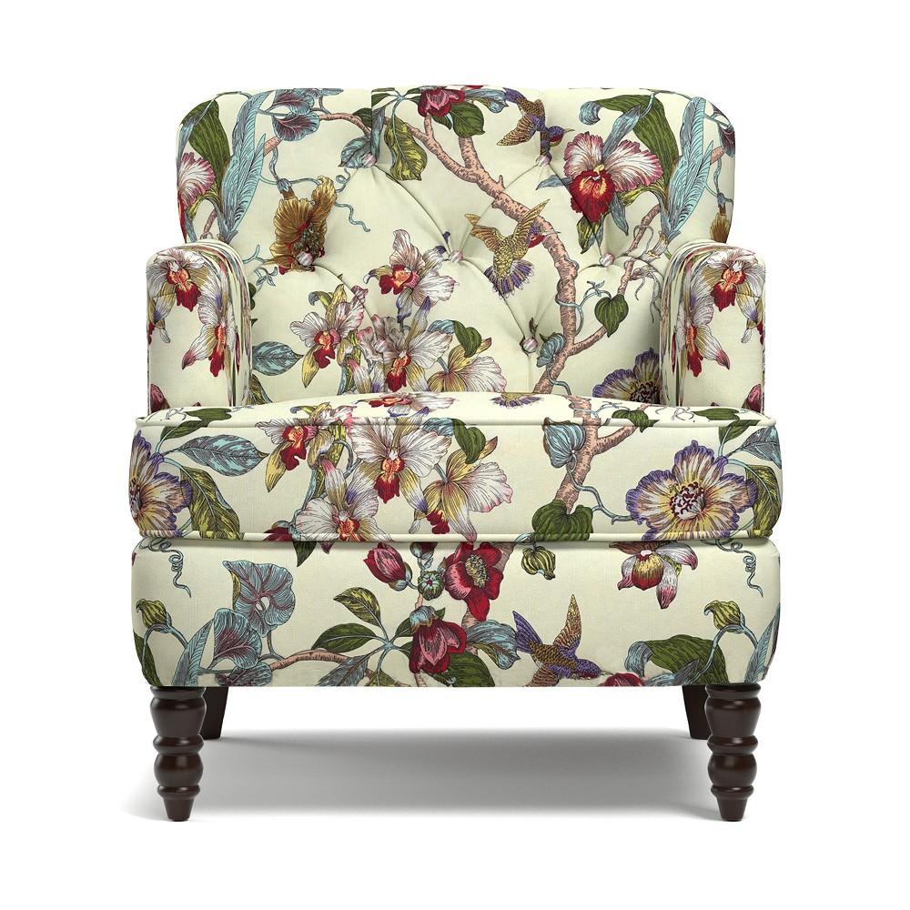 Suzanne Chair - Cream - Handy Living, Green