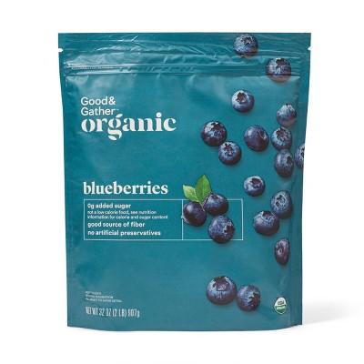Organic Frozen Blueberries - 32oz - Good & Gather™