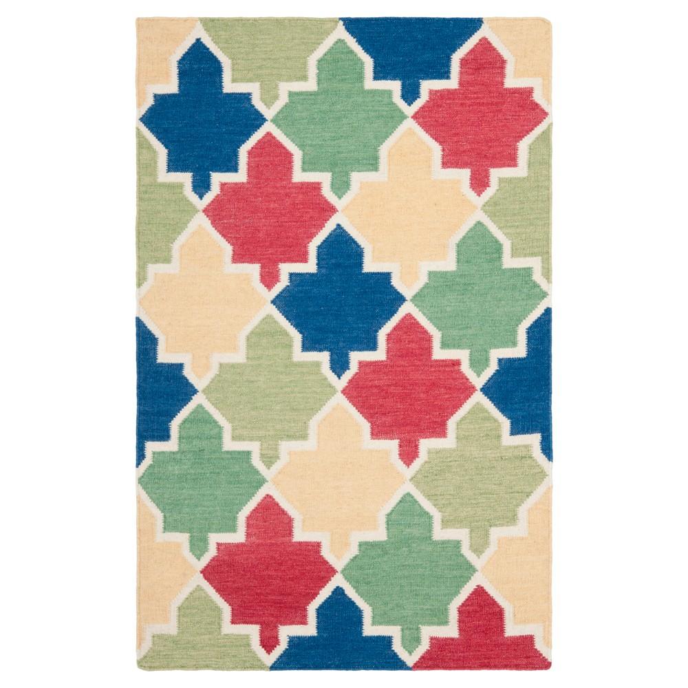 Buy Tara Dhurry Rug - Blue Multi - (3x5) - Safavieh
