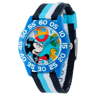 Boys' Disney Mickey Mouse Plastic Watch