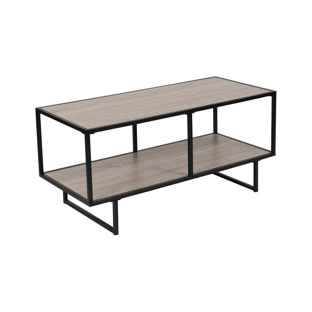 Midtown TV Stand Brown - Riverstone Furniture Midtown TV Stand Brown - Riverstone Furniture