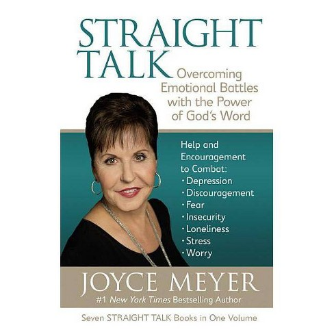 Straight Talk - by  Joyce Meyer (Hardcover) - image 1 of 1