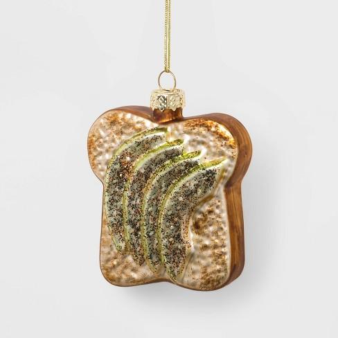 Avocado Toast Glass Christmas Ornament - Wondershop™ - image 1 of 2