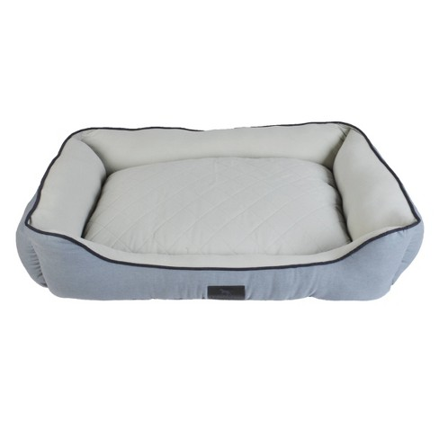 Sporting Dog Solutions Rectangle Cuddler Dog Bed - Gray - image 1 of 1