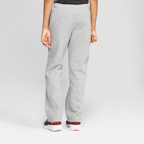 aac498f2 Boys' Cotton Fleece Pants - C9 Champion® Cool Gray Heather M : Target