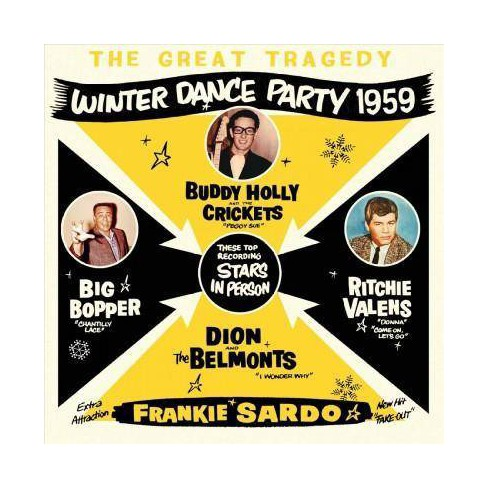 Various - Great Tragedy: Winter Dance Party 1959 (CD) - image 1 of 1