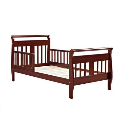 Toddler Baby Relax Apollo Sleigh Bed Cherry - Dorel Living