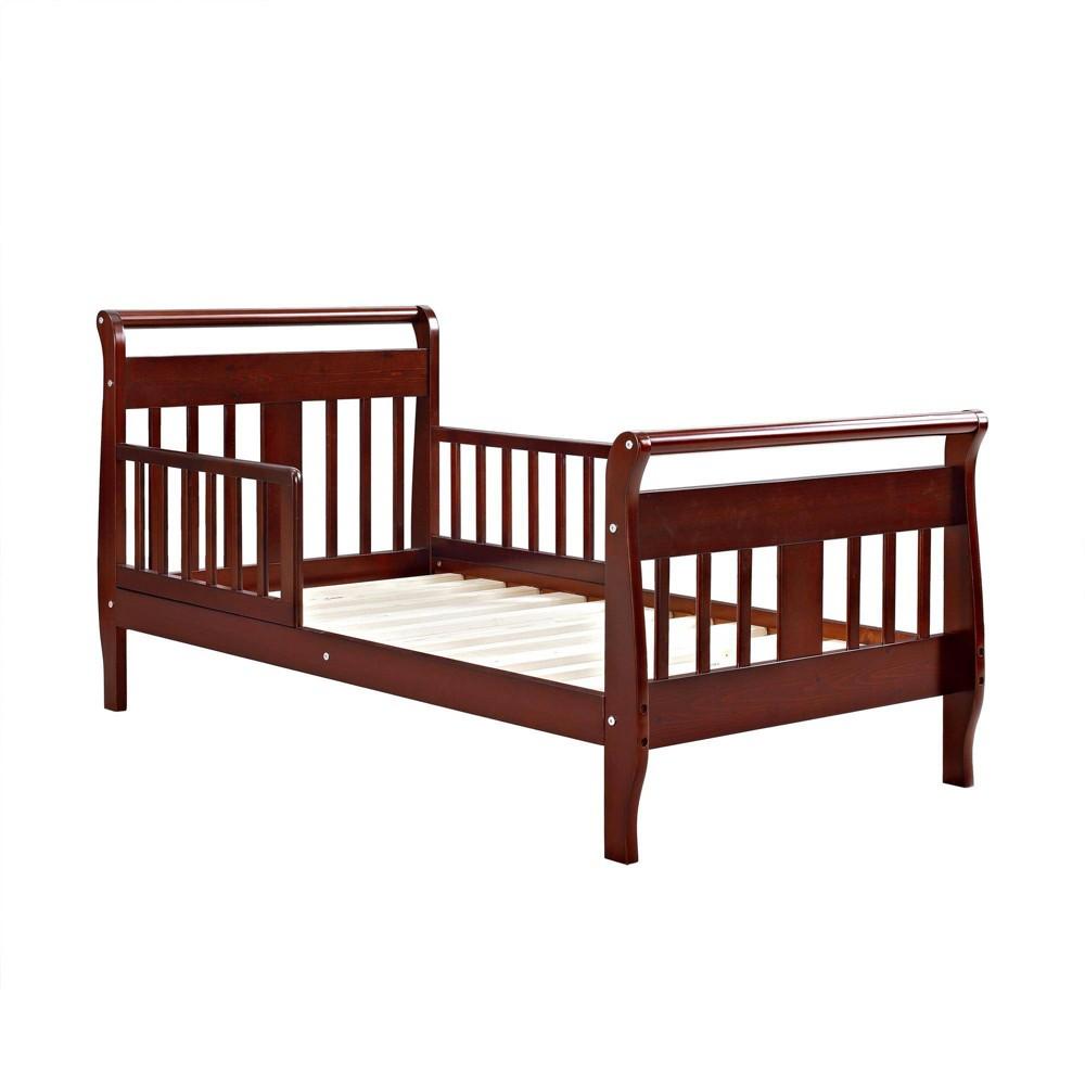 Toddler Baby Relax Apollo Sleigh Bed Cherry Dorel Living