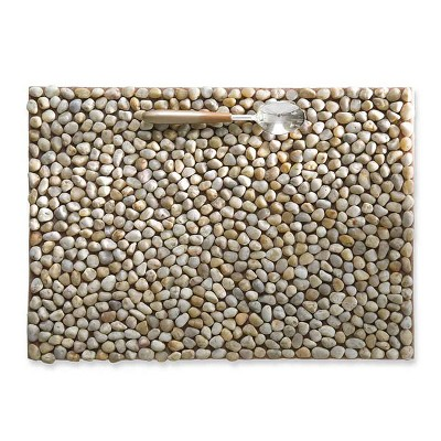 VivaTerra River Stone Placemats, Set of 4