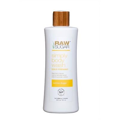 view Raw Sugar Lemon Sugar Body Wash - 25 fl oz on target.com. Opens in a new tab.