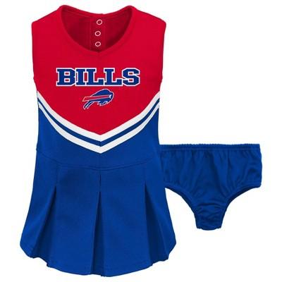 NFL Buffalo Bills Toddler Girls' Cheer Set