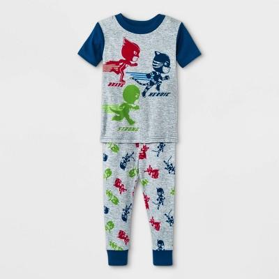 Toddler Boys' 2pc PJ Masks Pajama Set - Gray
