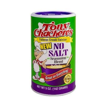 Tony Chachere's Salt Free Creole Seasoning - 8oz