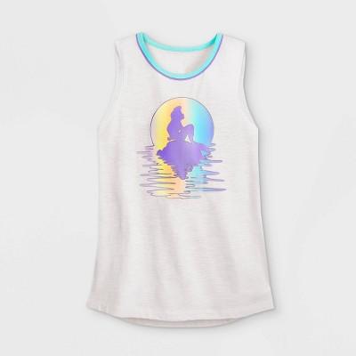 Women's Disney The Little Mermaid Ariel Tank Top - White - Disney Store