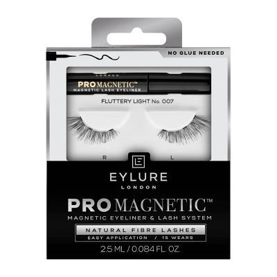Eylure ProMagnetic Natural Fiber False Eyelashes No.7 - Black - 1pr