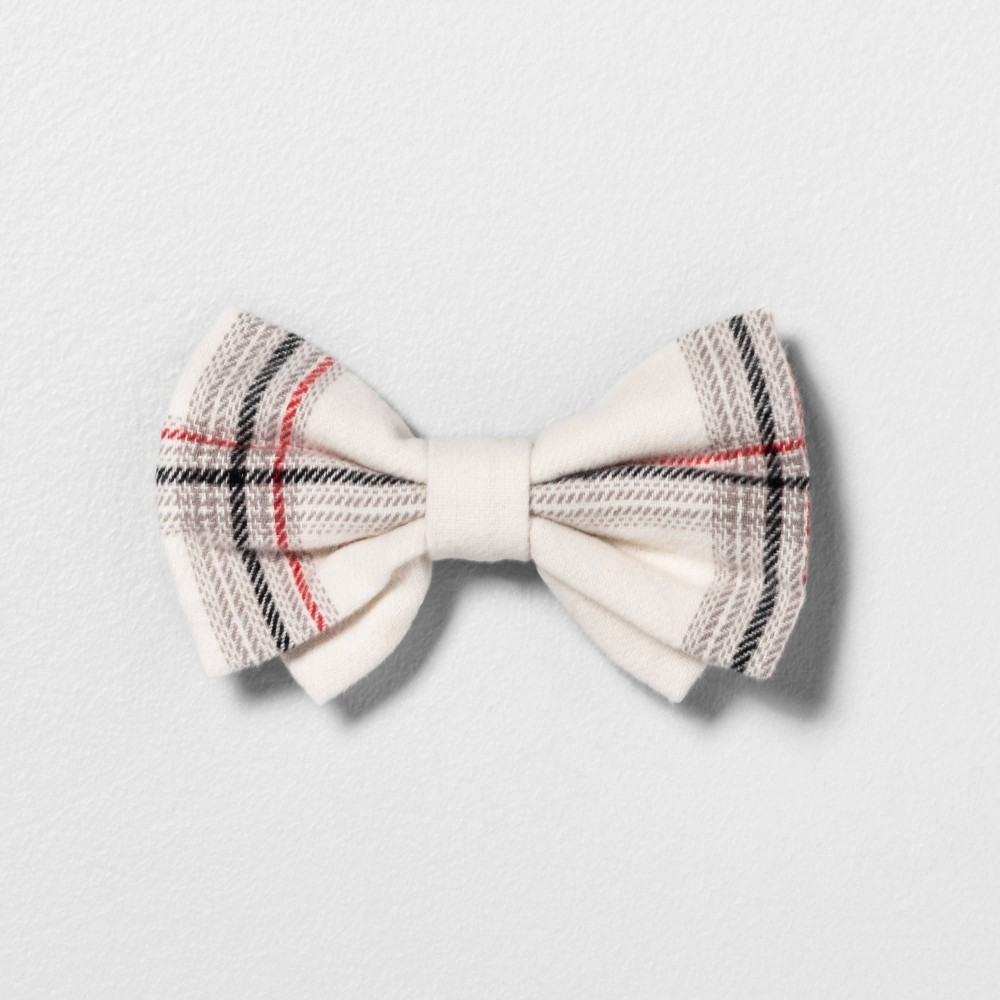 Image of Pet Bowtie - Hearth & Hand with Magnolia, Size: Small, Beige