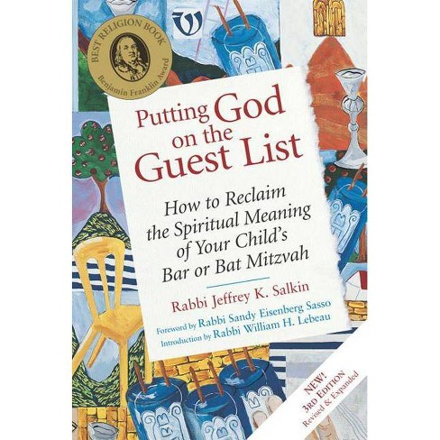 Putting God on the Guest List, Third Edition - 3 Edition by  Jeffrey K Salkin (Hardcover) - image 1 of 1