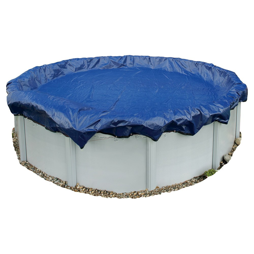 Blue Wave Gold 15-Year 36-ft Round Above Ground Pool Winter Cover, Multicolored