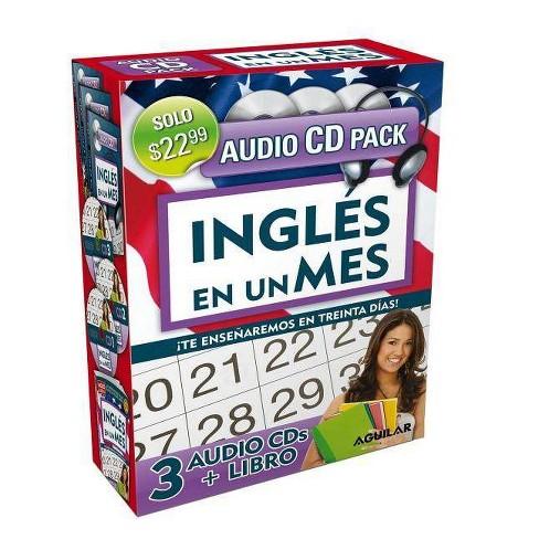 Ingl�s En 100 D�as - Ingl�s En Un Mes - Audio Pack (Libro + 3 CD's Audio) / English in 100 Days - - image 1 of 1