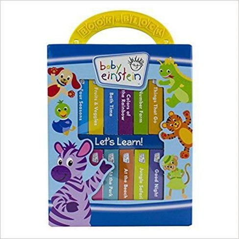 Baby Einstein - My First Library 12 Board Book Block Set - by Disney - image 1 of 4