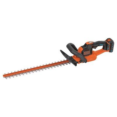 BLACK+DECKER 20V Hedge Trimmer - Orange