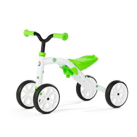 Chillafish Kid's Quadie Grow-With-Me Ride On Bike - Lime, Kids Unisex, Green image number null
