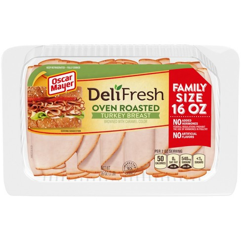 Oscar Mayer Deli Fresh Sliced Oven Roasted Turkey Breast - 16oz - image 1 of 3