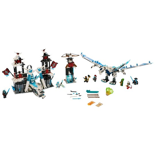 LEGO Ninjago Castle of the Forsaken Emperor 70678 Toy Castle Ninja Minifigures Building Set 1218pc image number null