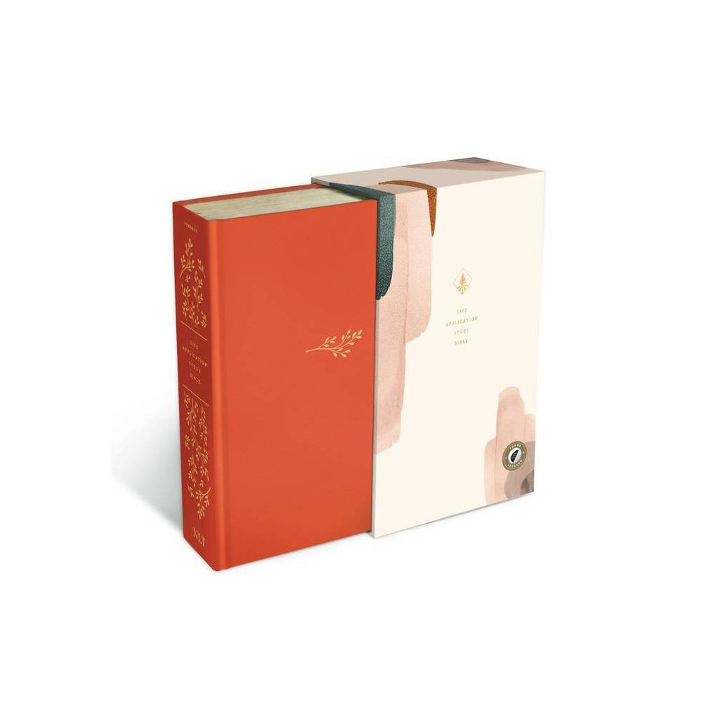 Nlt Life Application Study Bible Third Edition Red Letter Hardcover Cloth Coral Indexed