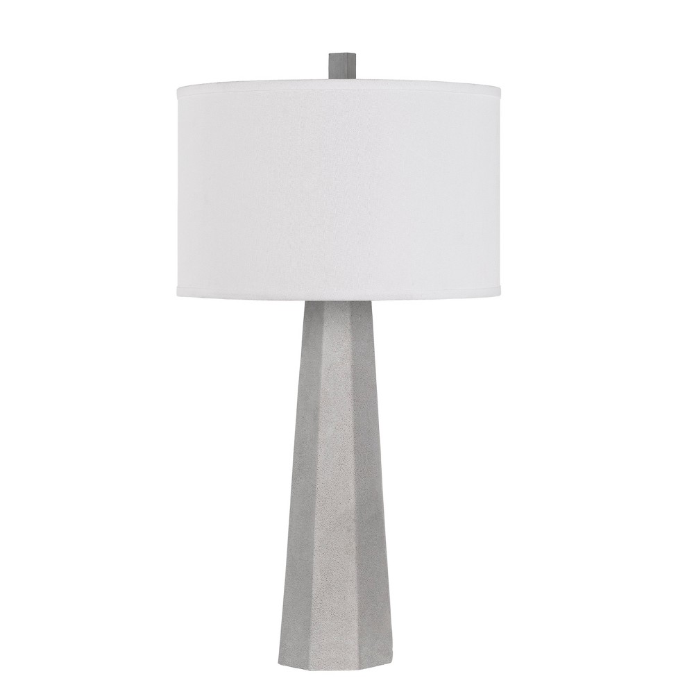 150W 3 Way Sora Cement Table Lamp (Lamp Only) - Cal Lighting, Multi-Colored