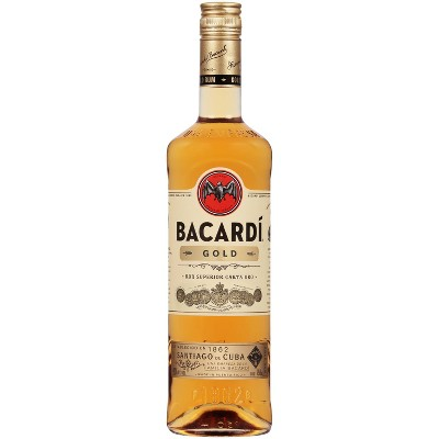 Bacardi Gold Rum - 750ml Bottle