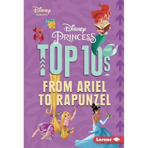 Disney Princess Top 10s - (My Top 10 Disney) by  Jennifer Boothroyd (Hardcover) - image 1 of 1