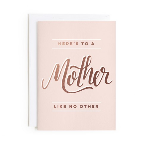 Minted Mother Like No Other Card - image 1 of 1