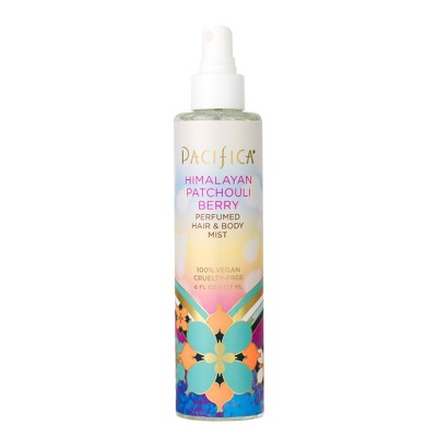 Himalayan Patchouli Berry by Pacifica Perfumed Hair and Body Mist Women's Body Spray - 6 fl oz