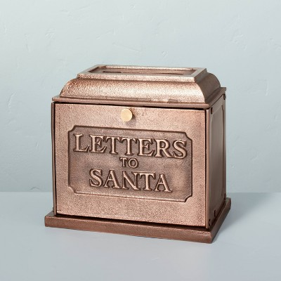 Metal Letters To Santa Mailbox Antique Copper - Hearth & Hand™ with Magnolia