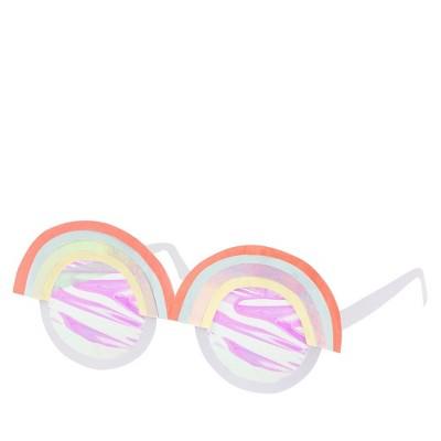 Meri Meri - Rainbow Wearable Glasses - Wearable Party Accessories - 12ct