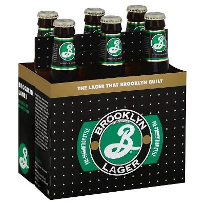 Saranac Brooklyn Lager Beer - 6pk/12 fl oz Bottles