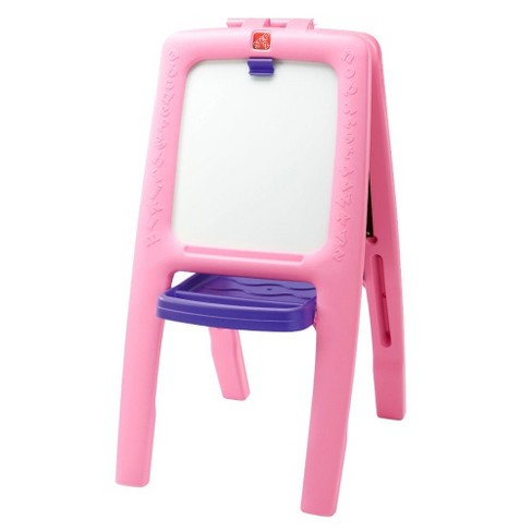 Step2 Easel For Two - 1 pk with foam Magnets - Pink - image 1 of 1