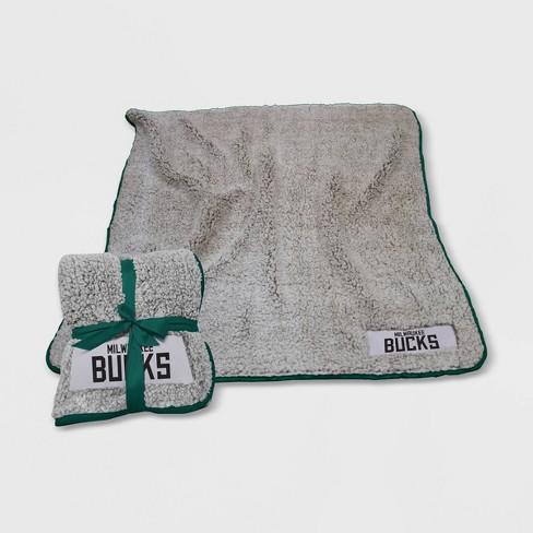NBA Milwaukee Bucks Frosty Fleece Throw - image 1 of 1