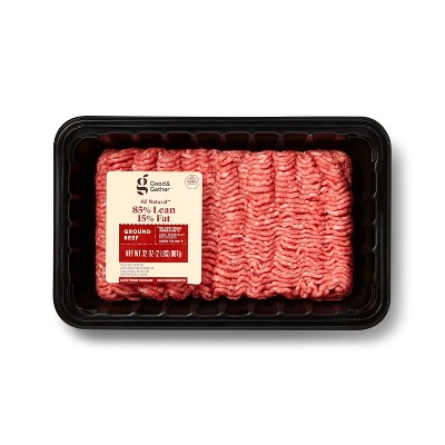 All Natural 85/15 Ground Beef - 2lbs - Good & Gather™