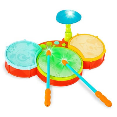 Land of B. Little Beats Drum Set